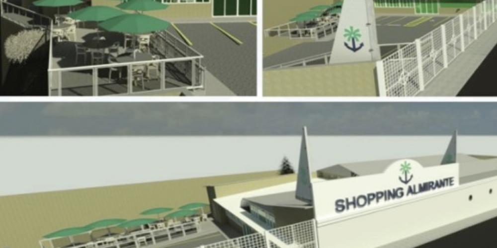 Almirante Tamandaré inaugura o primeiro shopping da cidade. 20 lojas e 13 restaurantes estarão à disposição dos consumidores