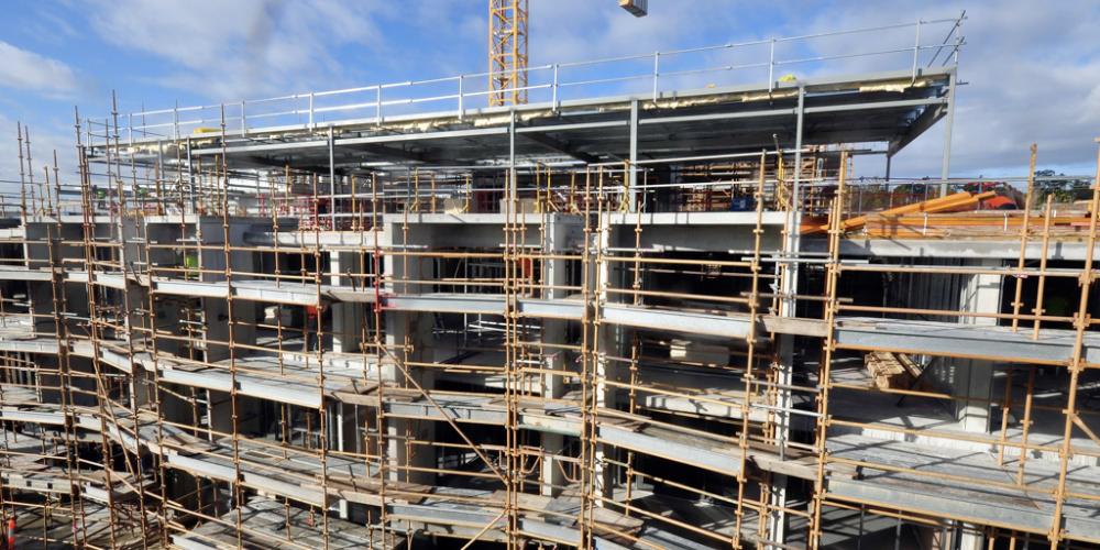 Preocupação geral total no setor da construção civil
