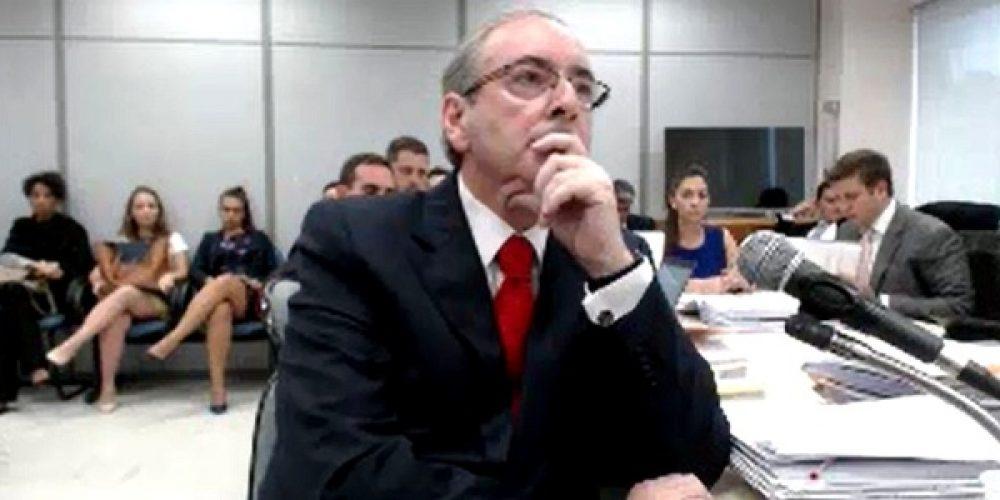 Eduardo Cunha, o inocente do país, afirma que a turma da JBS queria derrubar Michelzinho