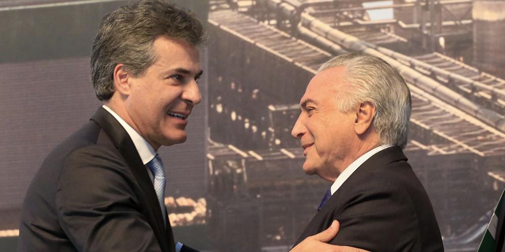 Beto Richa acena com apoio para aprovação da reforma previdenciária e ganha de Temer  assinatura de empréstimo do BID ao Paraná
