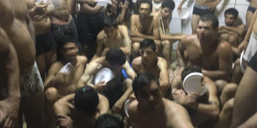Curitiba: Defensoria Pública e o Conselho da Comunidade recebem denúncia de superlotação e tratamento desumano na Central de Flagrantes