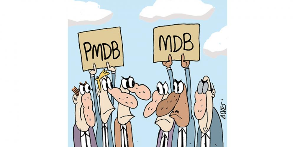 Diretório do PMDB de Curitiba e de mais duas cidades não concordam com a mudança da sigla. Querem PMDB e não MDB