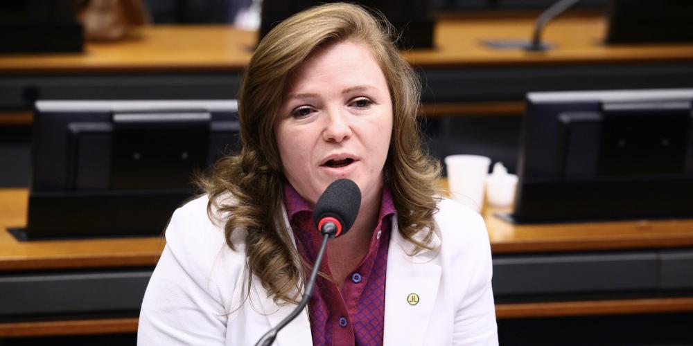 Uma única mulher entre as lideranças na Câmara Federal. Leandre Dal Ponte (PV) é deputada do Paraná