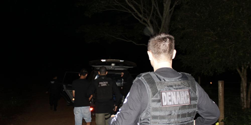 Matelândia: Quadrilha envolvida em tráfico e roubos é alvo de operação. Estão sendo cumpridos 11 mandados de prisão