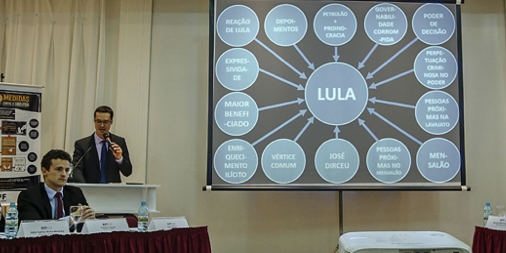 Deltan Dallagnol x Lula – O petista continua recorrendo. Ele insiste que Dallagnol o indenize por apresentação de PowerPoint
