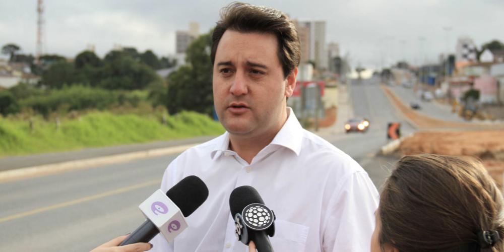 """Ratinho Júnior sobre o pleito eleitoral: """"Nunca me preocupei em ser o candidato do Richa"""""""