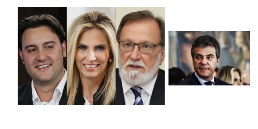 """Saiu mais uma """"fofoca"""" sobre as eleições no Paraná. Ratinho Junior, Osmar Dias, Beto Richa e Cida Borghetti, candidatos aos seguintes postos…"""
