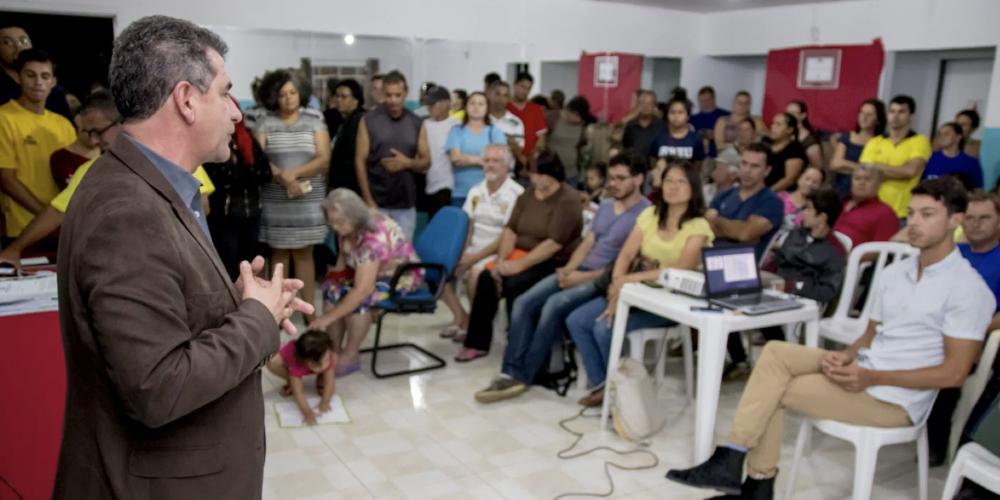 Discussão permanente com a comunidade. Prefeito de São José dos Pinhais realiza reunião com associações de moradores
