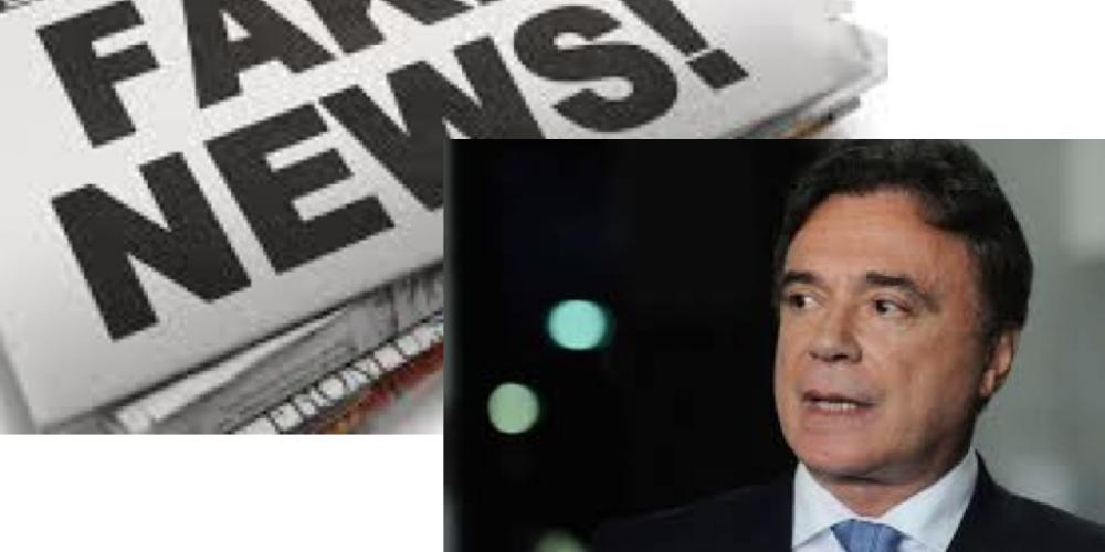 O presidenciável Álvaro Dias é vítima de fake news. Tem gente plantando notícias nada verossímeis sobre o senador paranaense