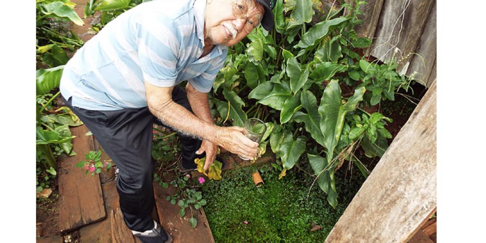 Paranaense é destaque na grande mídia. Ele cuida, há 60 anos, de nascente que se transforma no rio Pirapó