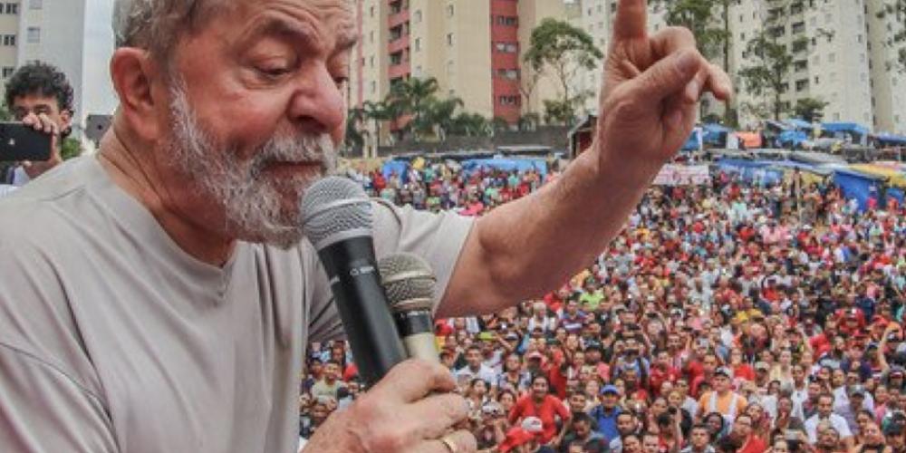 """Condenação da Justiça Federal não tira o ex-presidente da disputa. Moçada do Partido dos Trabalhadores diz, """"a luta continua"""""""