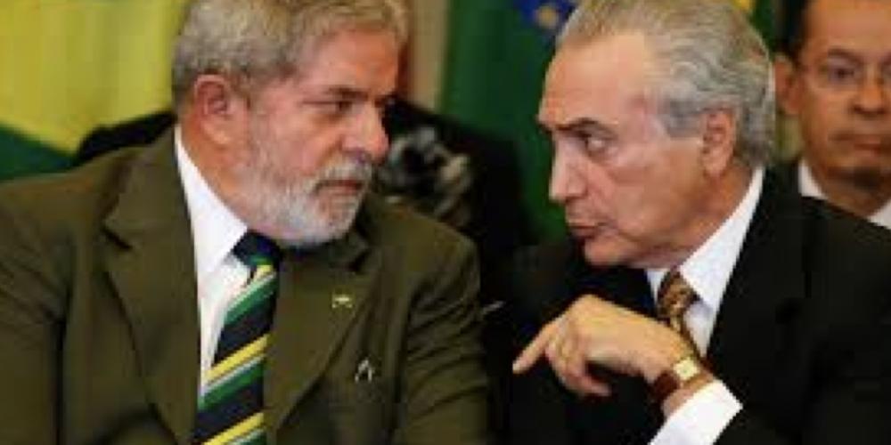 """Quando Michel Temer escreveu a carta em que dizia ser um """"vice decorativo"""", o ex-presidente Lula foi bater em sua casa no Alto de Pinheiros, bairro nobre de São Paulo"""