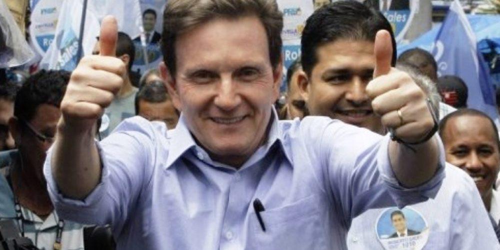 Prefeito do Rio de Janeiro, Marcelo Crivella, garante que Garotinho é honesto