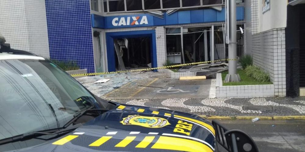 Levantamento da Folha de Londrina: Dos 399 municípios, 244 foram afetados por explosões em agências bancárias