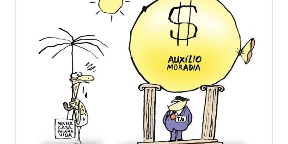 Auxílio-Moradia, o penduricalho que deixa a população indignada, poderá ter alguns remendos. STF deve restringir a mordomia