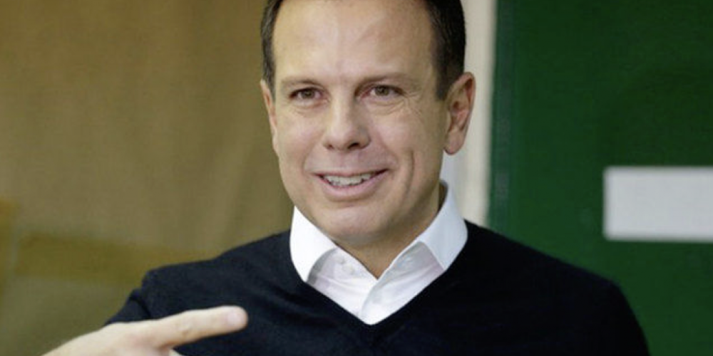 Correu da raia. Doria afirma que não vai ser candidato. Ele vai apoiar Geraldo Alckmin