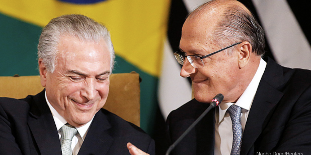 Primeiro, a gente tira a Dilma e o PT. Depois relaxa, que o país é nosso. Na real, aqui no Brasil, a justiça sempre foi seletiva