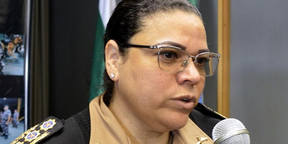 Coronel Audilene de Paula Dias Rocha será a nova comandante da Polícia Militar do Paraná