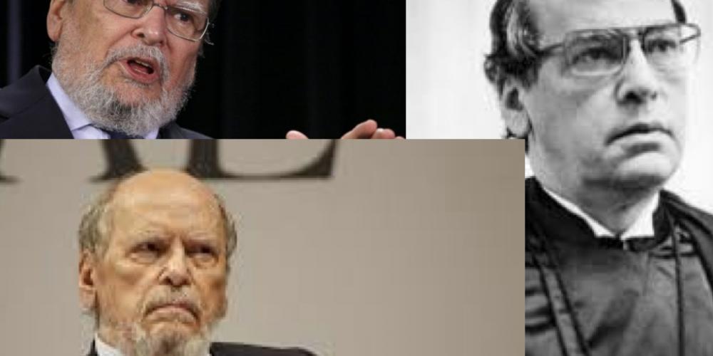 Sepúlveda Pertence, ontem Jesus Cristo. Foi contratado para defender Lula, hoje é capeta. Pobres intelectuais que não enxergam além do umbigo…