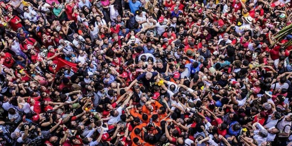 PT na geral. A corrida é para sensibilizar a sociedade brasileira e mostrar diferenças