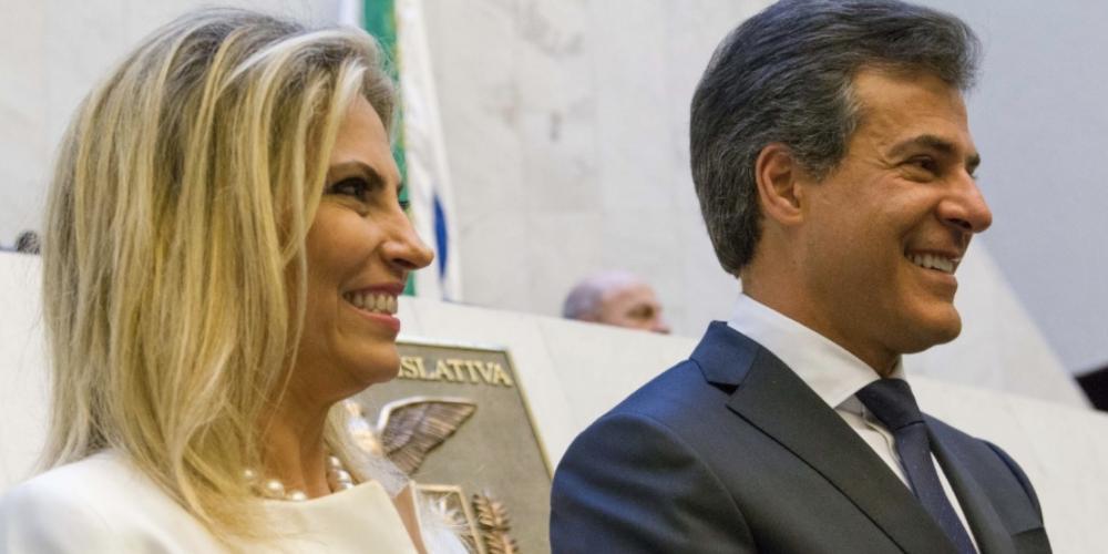 Beto Richa transmite o cargo para Cida Borghetti. A solenidade está marcada para às 11h desta sexta-feira (06/04)