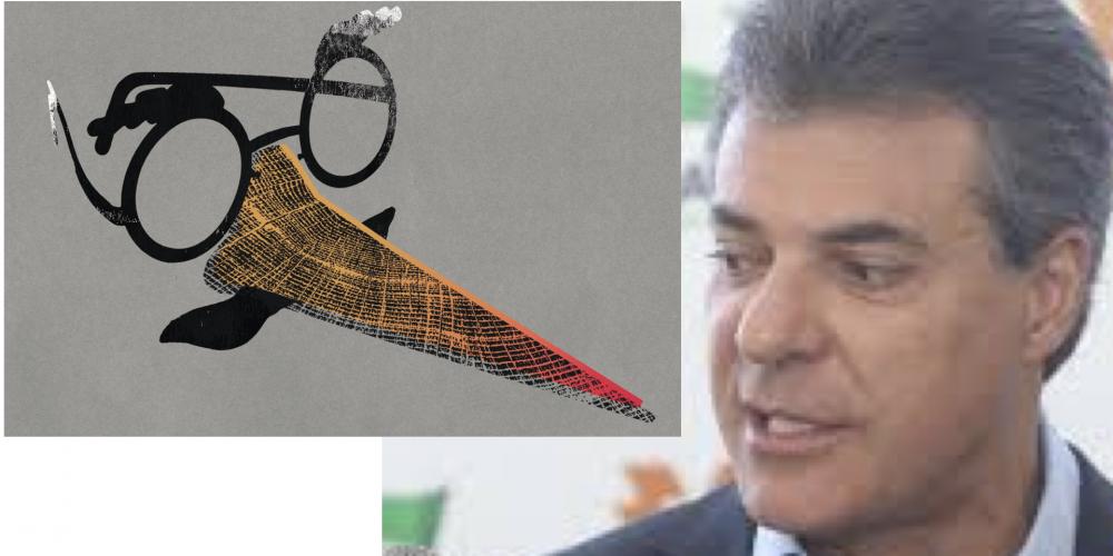 """Nas últimas horas de seu governo, Beto Richa continua correndo o estado e assinando """"ordens de serviço"""". """"Pinóquião"""", está faltando coisa aí…"""