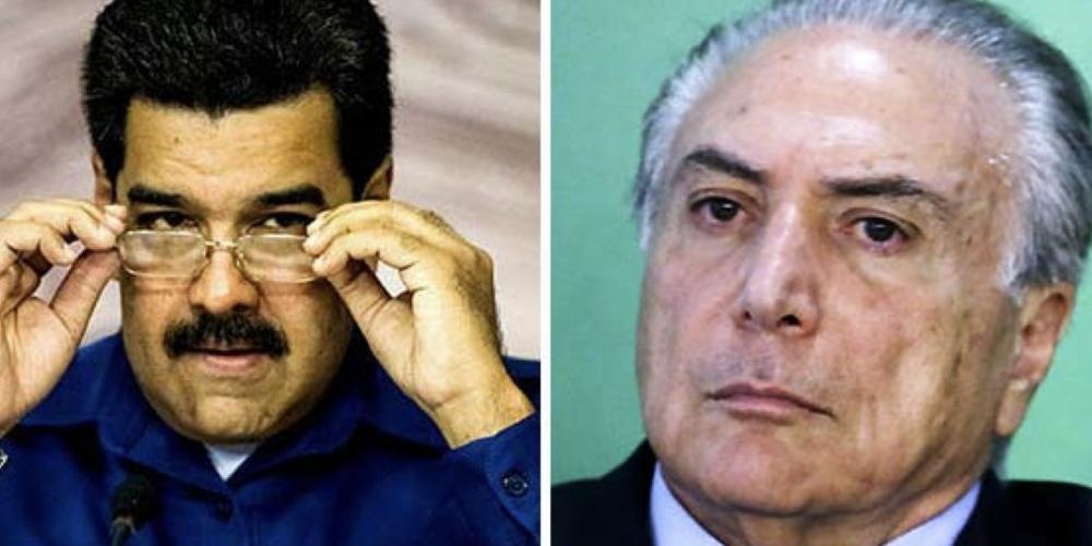 Ficando muito feio. Pesquisa aponta que Michel Temer só não perde para o presidente da Venezuela em popularidade